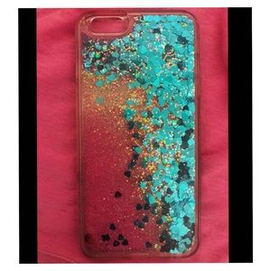 iPhone 6/7 Plus Glitter case